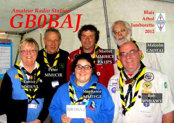 GB0BAJ Radio Team