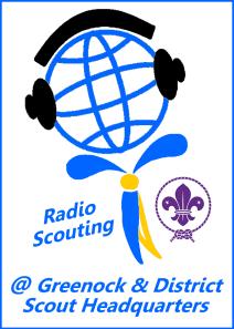 Radio Scouting at Greenock & District HQ